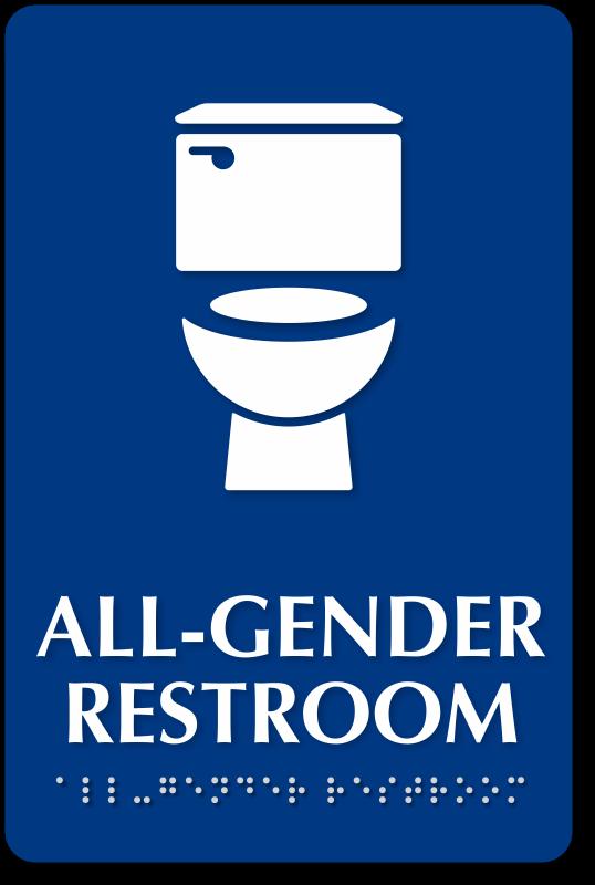 school bathroom sign. Delighful Bathroom Gender Neutral Bathroom Signs And School Sign U
